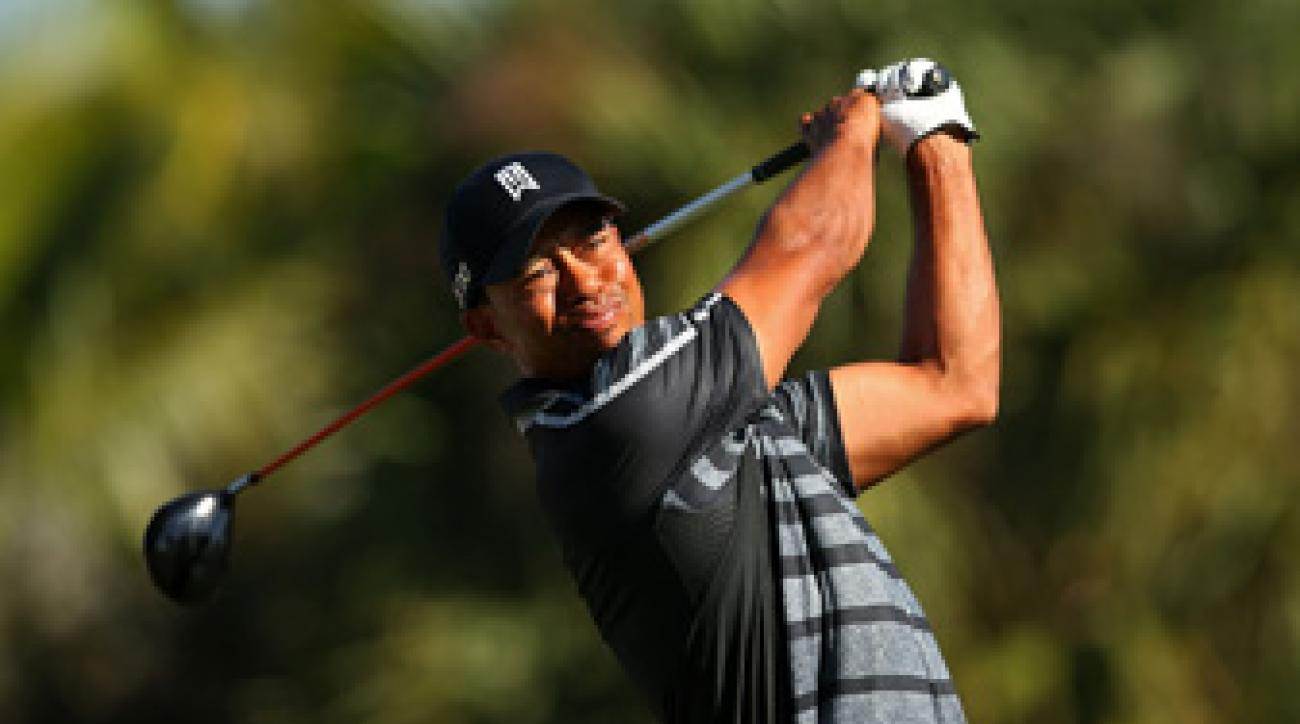 Woods has won three times in just five starts this year.
