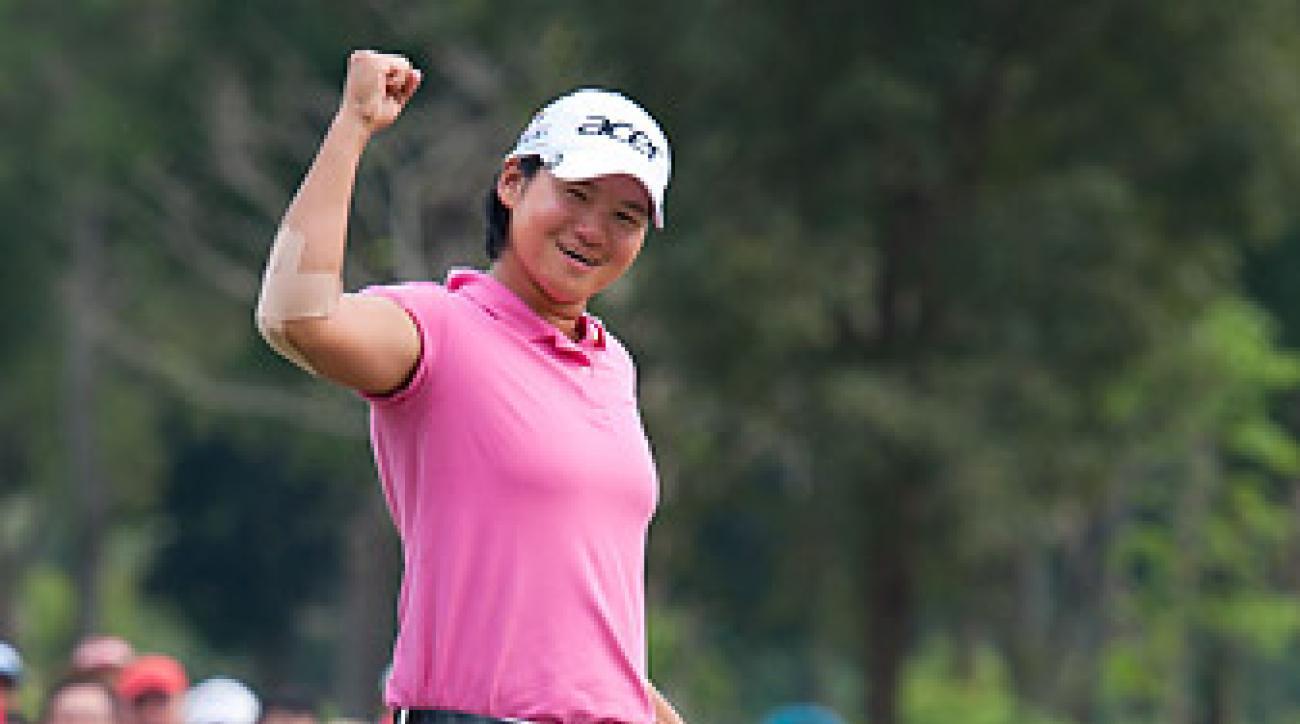 Yani Tseng won the LPGA Thailand by one shot.