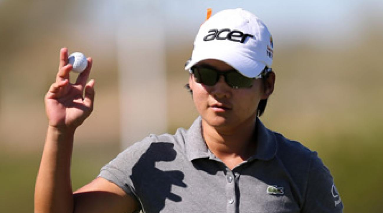 Yani Tseng lost the No. 1 ranking to Stacy Lewis three weeks ago.