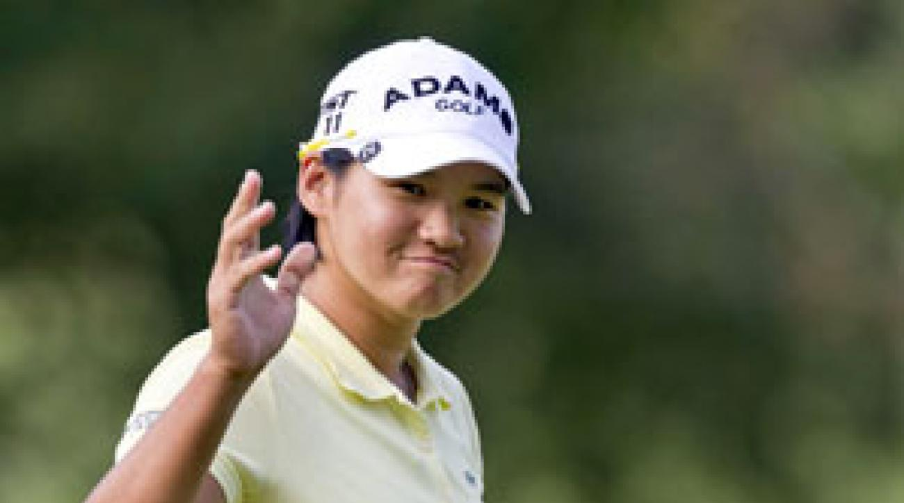 Yani Tseng made three birdies and an eagle on Friday.