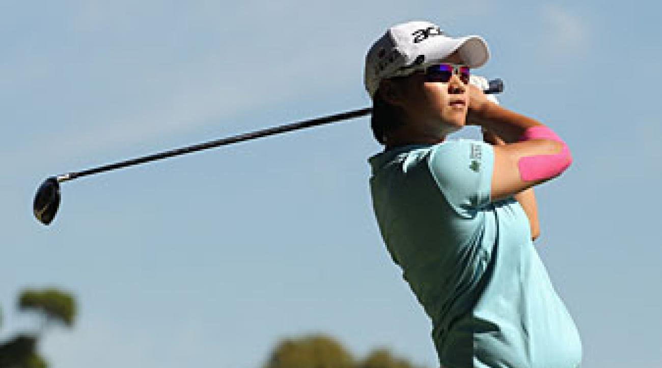 Yani Tseng made five birdies and two bogeys.