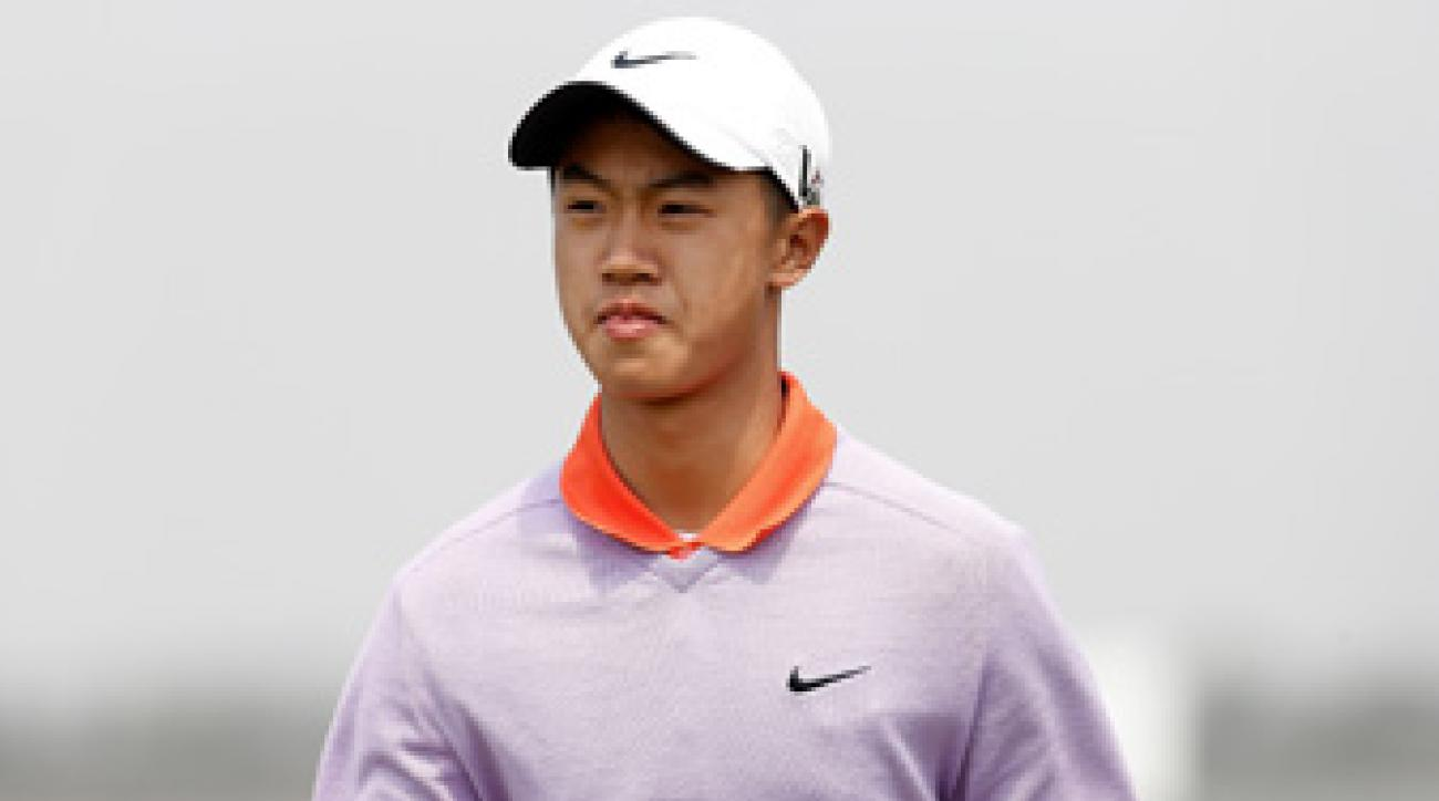 Ye Wo-cheng, 12, made eight bogeys and one birdie.