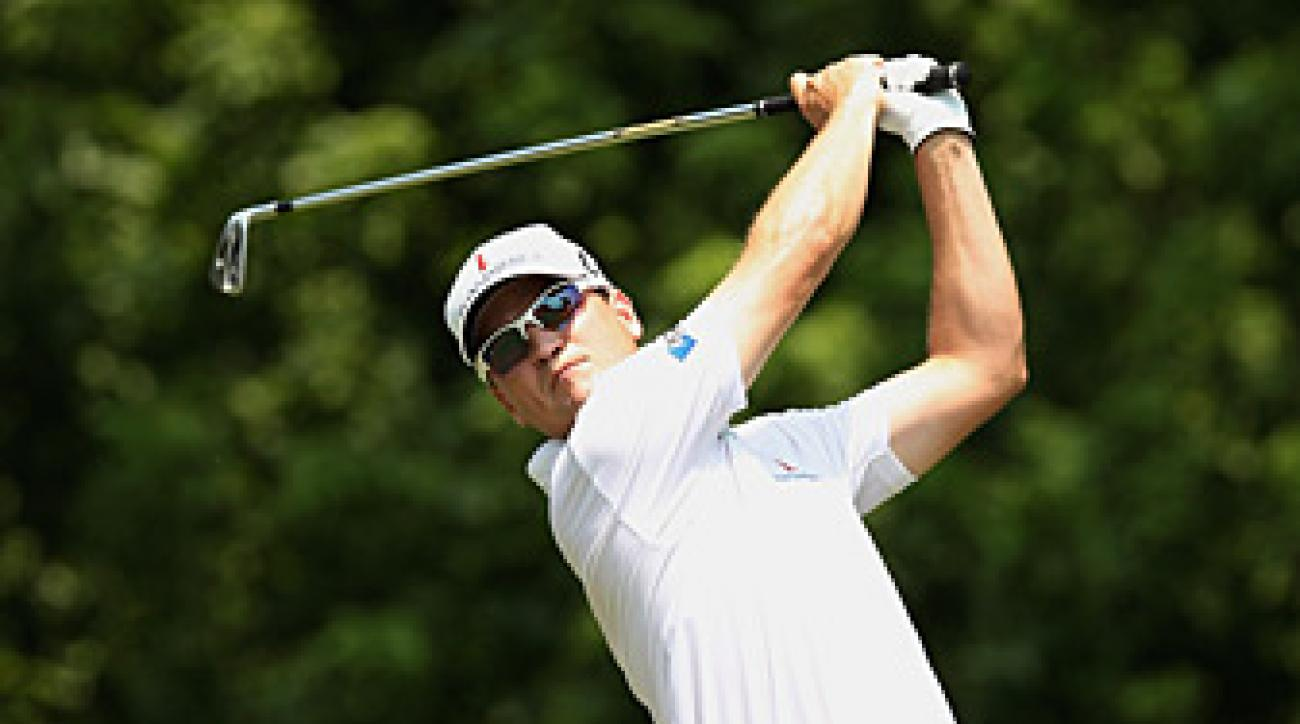 Zach Johnson made an eagle, four birdies and three bogeys on Friday.
