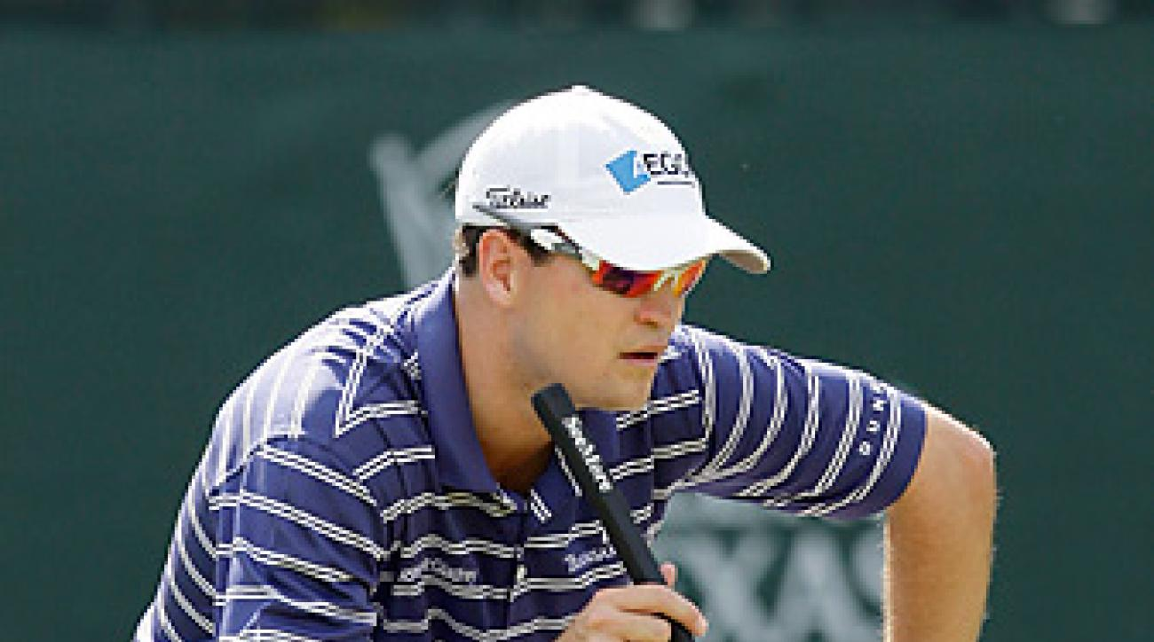 Zach Johnson at the 2008 Valero Texas Open.