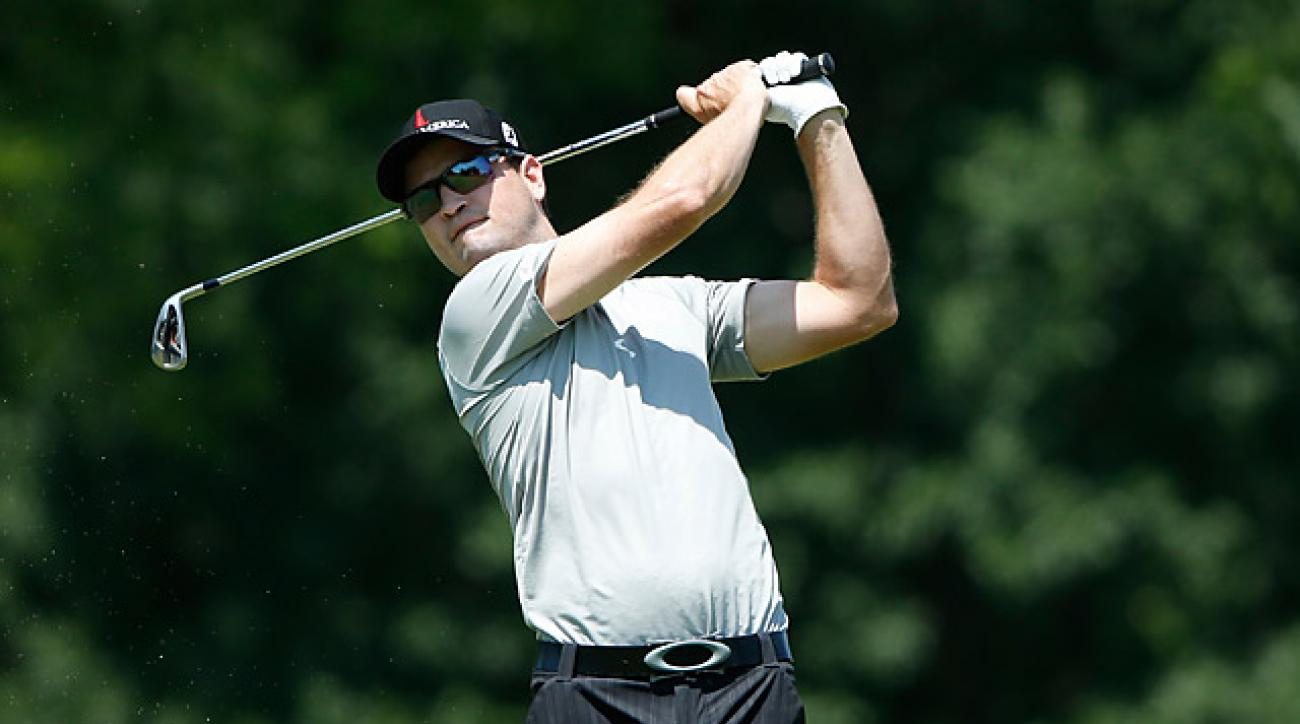 Zach Johnson, who won this event in 2012, shot a 63 on Thursday.