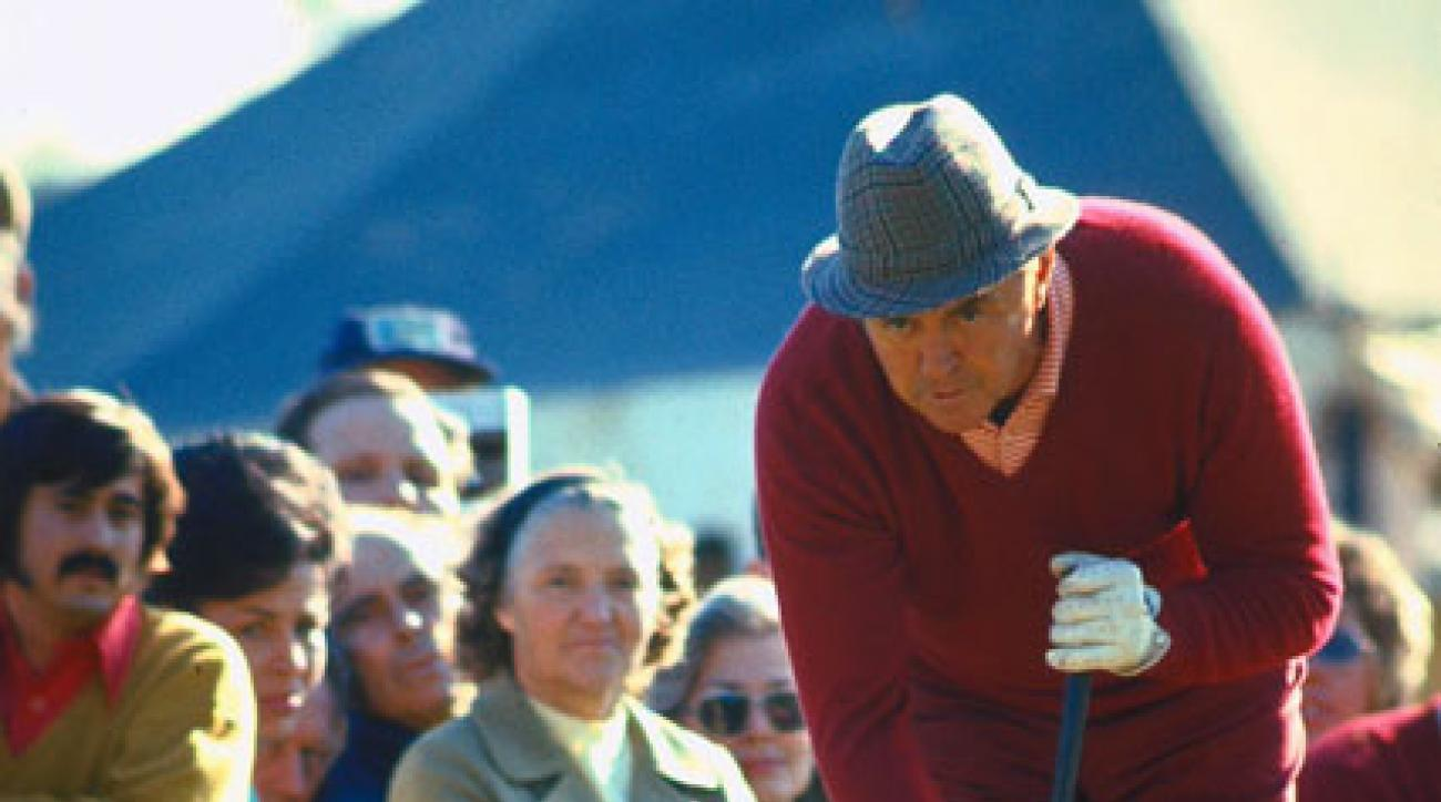 """Here is a look back at some significant moments in the evolution of the long putter.                                                                                  1967                                          The USGA announced a rule (as of Jan. 1, 1968) prohibiting golfers from straddling the ball while putting, effectively banning the new croquet-style putting in use by Sam Snead (pictured). """"The game of golf was becoming bizarre,"""" USGA Executive Director Joe Dey told SI. """"It was some other game, part croquet, part shuffleboard, and part the posture of Mohammedan prayer."""""""