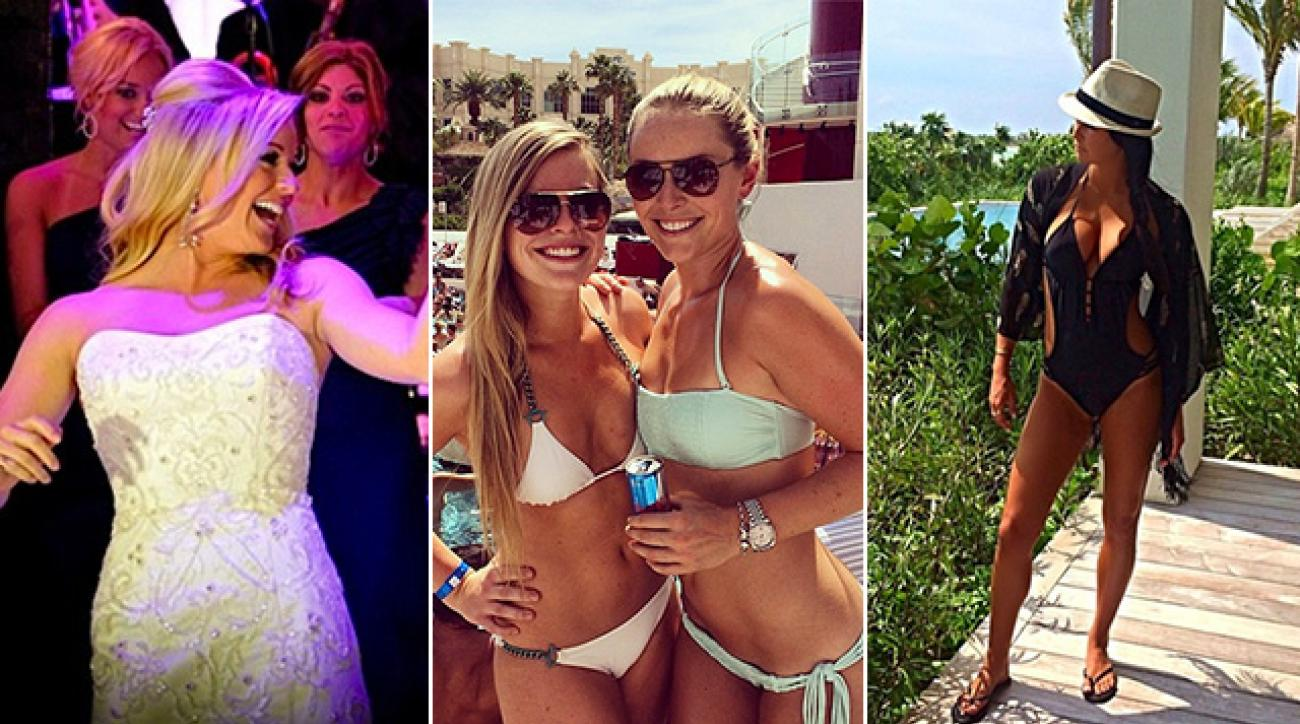 It's not just the pros who like to document their off-tour moments on social media! Here are some snapshots from pro WAGs like Kandi Mahan, Lindsey Vonn and Amanda Dufner.