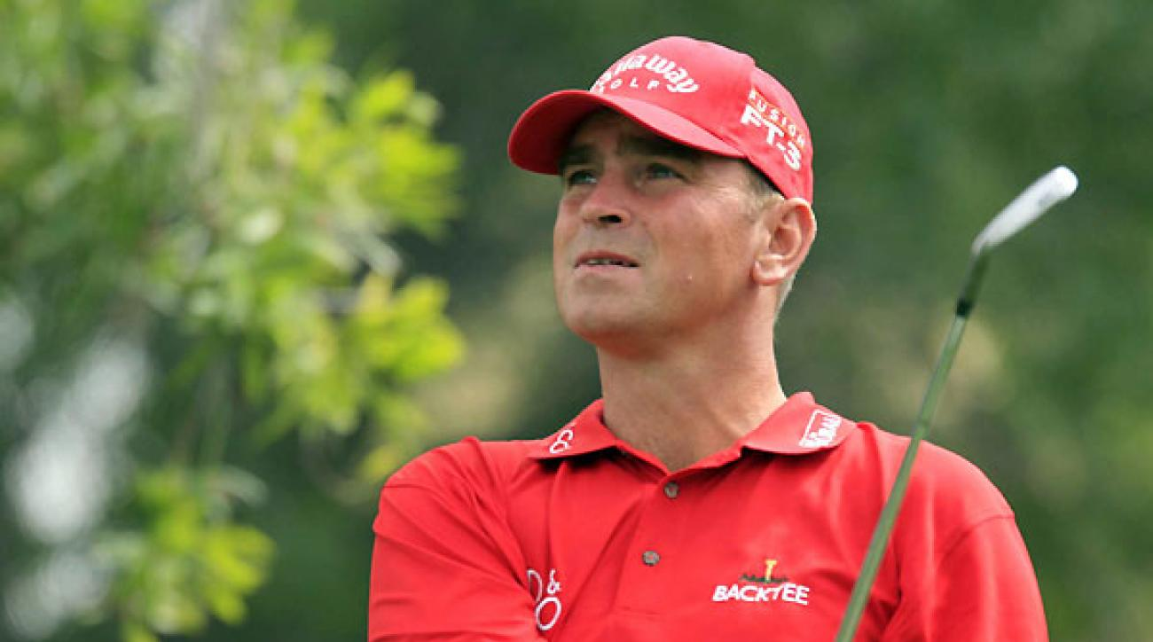 Thomas Bjorn                 Hero stuff: Ninetime                 winner on the                 European Tour                                  What's the best                 way to approach                 a stressful shot?                                  A lot of amateurs                 find it stressful to                 play with better                 players. When you                 do, don't try to hit it                 like a pro! Don't try                 to hit it too hard.                 Know your limits.                                  Could Tour                 pros play                 any slower?                                  The days of the                 three-hour round                 are over. It's a shame.                 People are too busy                 watching what                 everybody else is                 doing instead of                 being ready to play.                                  Who would                 you pay                 to watch?                                  Oh, Tiger. It's just                 phenomenal to                 watch what he can                 do. It's so effortless                 and so skillful.