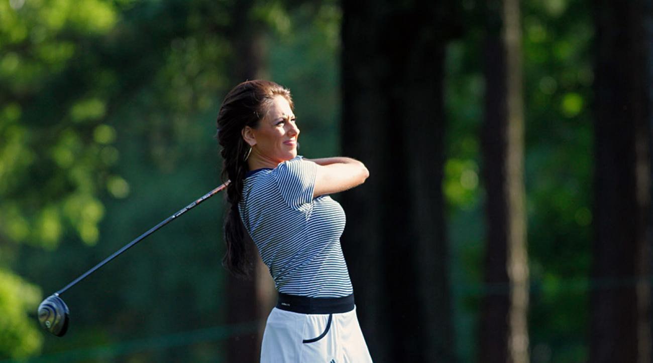 Holly Sonders was one of GOLF's Most Beautiful Women in Golf in 2016.