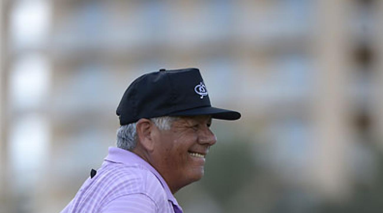 """He's only going to come back if he doesn't get another guru. If he gets another guru, that guy is going to be changing him again and he's got to swing like this guy swings. You understand? He's got to do this on his own.""                                   --Lee Trevino on Tiger Woods."
