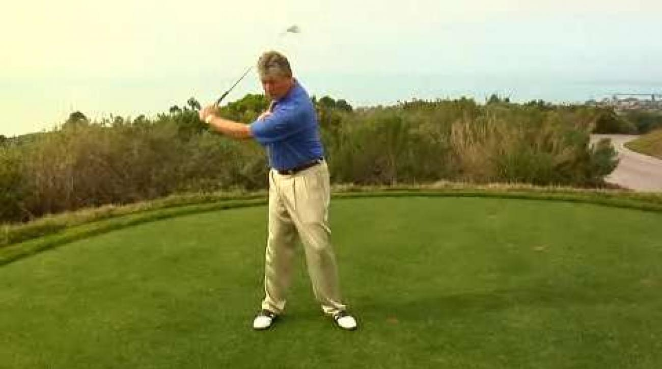 Shave 10 Strokes: Don't Rush Your Downswing