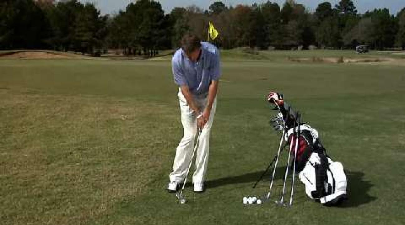 Hump Day Tip: Shift Your Feet for Better Chipping