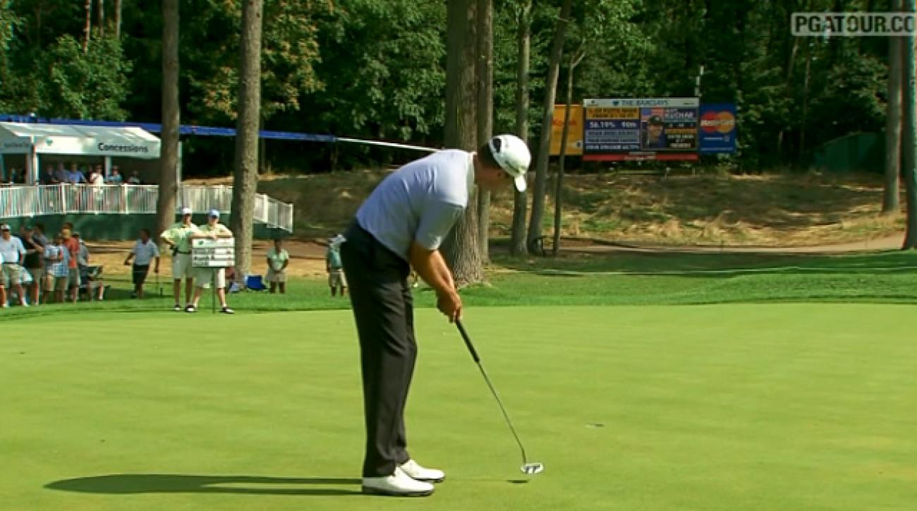 2011 Barclays: Second Round Highlights