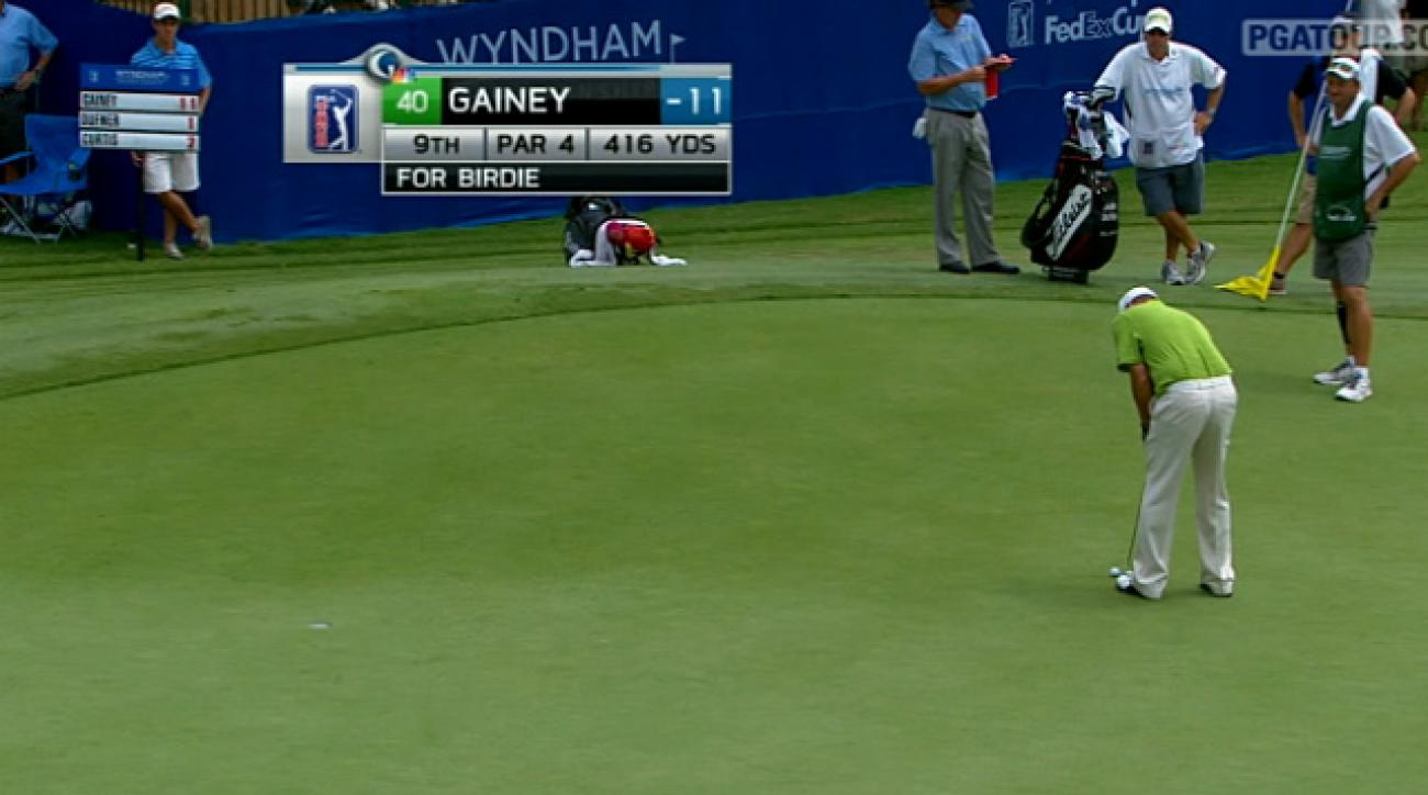 2011 Wyndham Championship: Round 2 Highlights