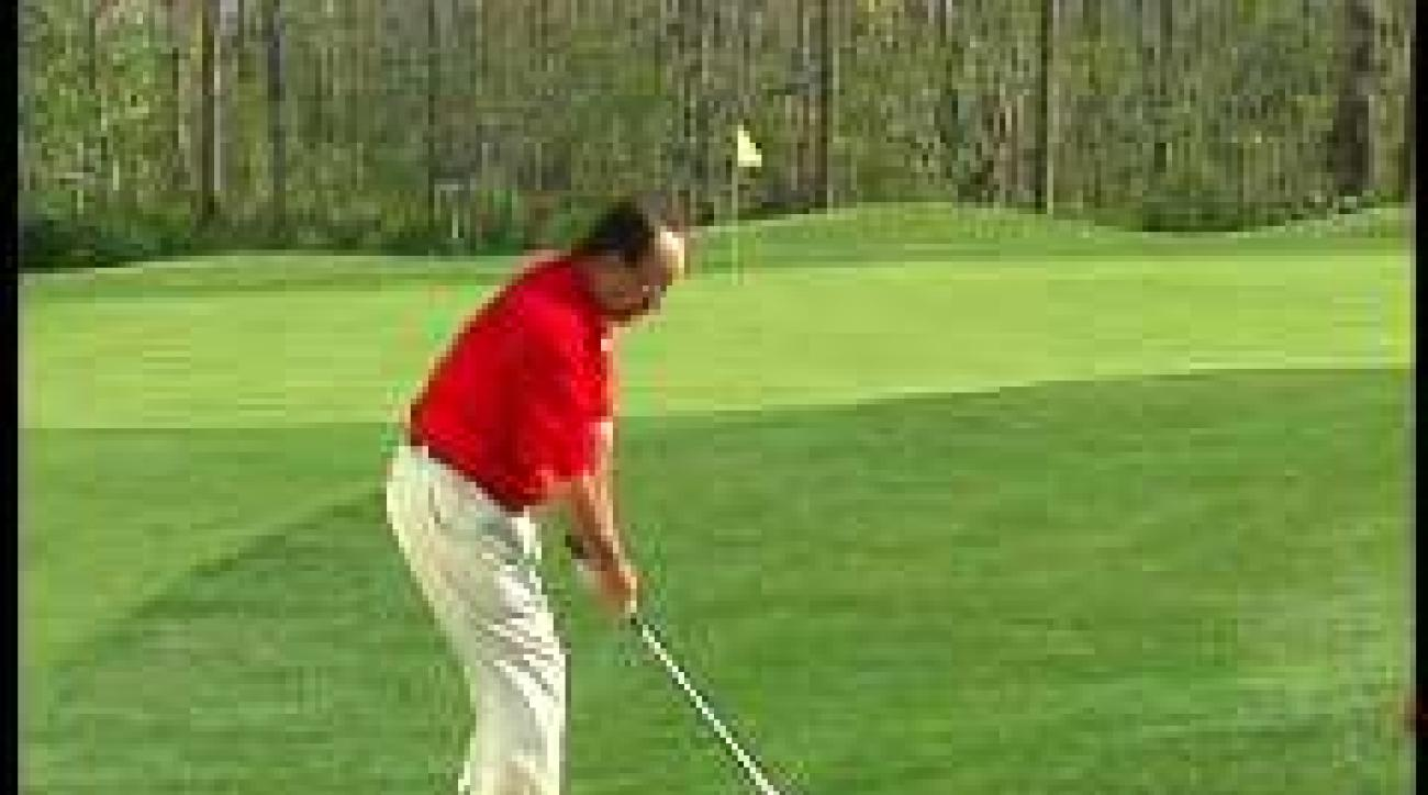 Chipping From Uneven Lies
