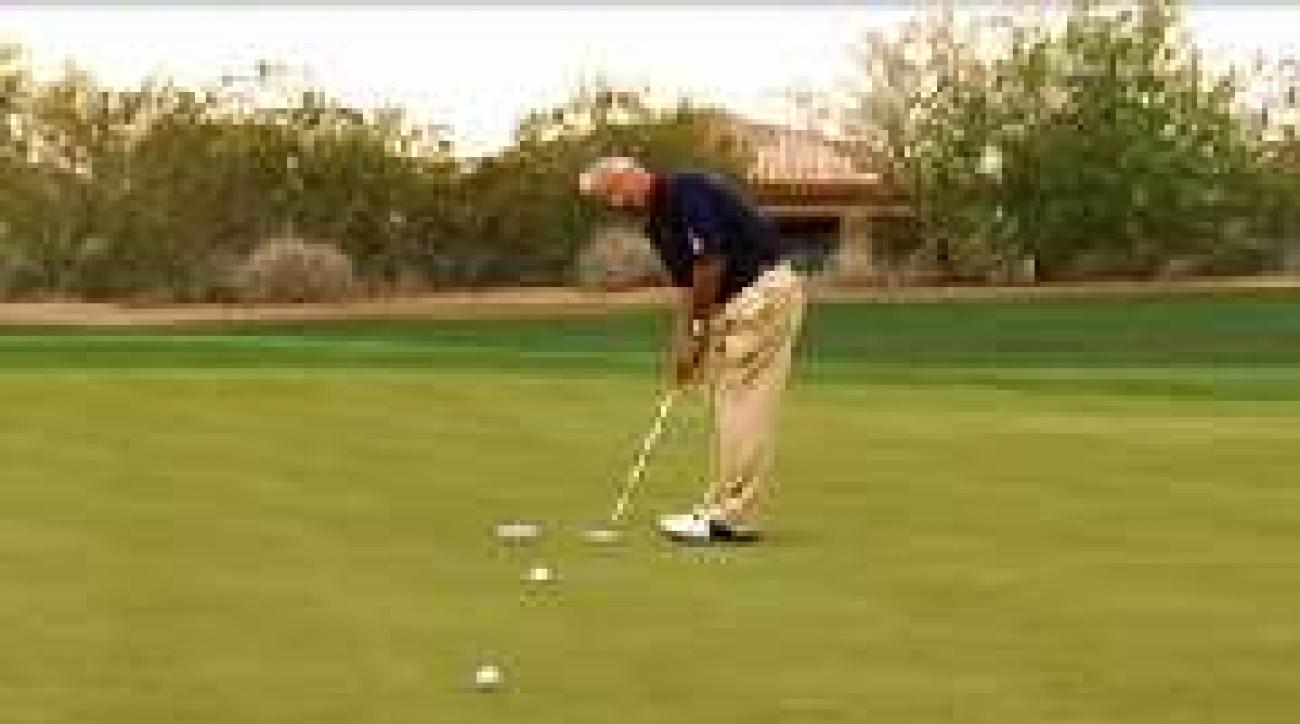 The Putting Ladder Drill
