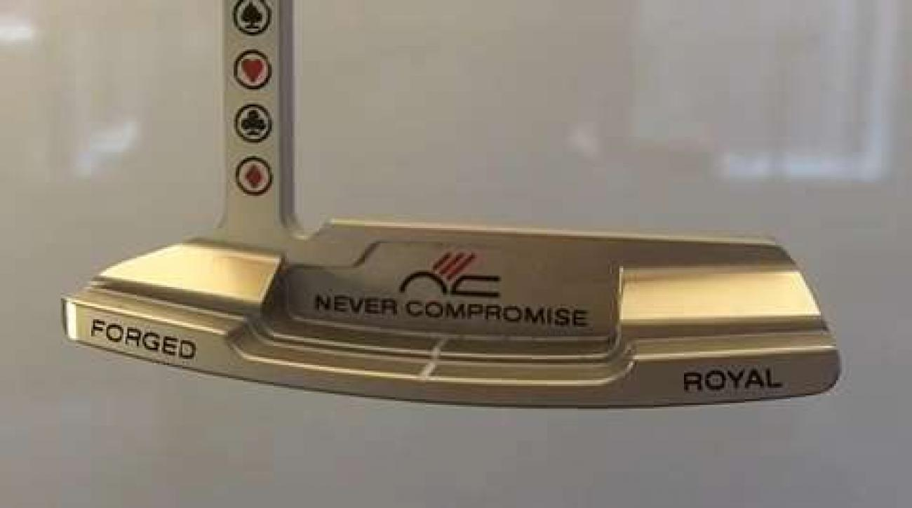 Never Compromise Gambler Royal Putter
