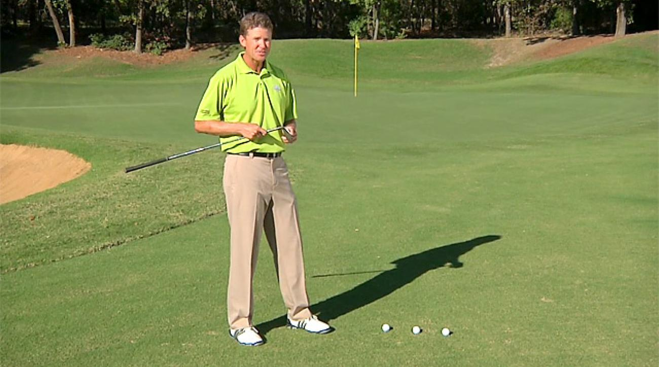 Hump Day Tip: Use your gap wedge for three different chips