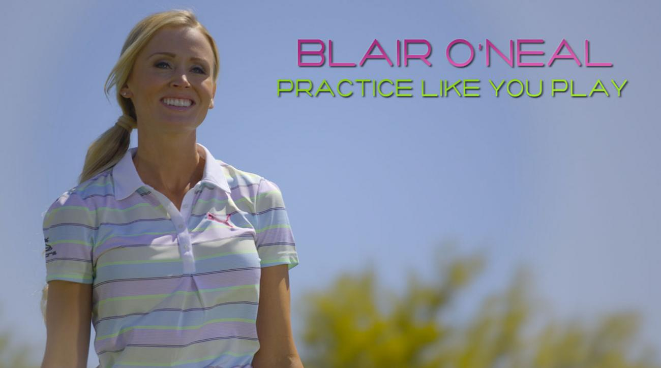 Hot Tip From a Hot Golfer: Blair O'Neal Shows You the Right Way to Practice