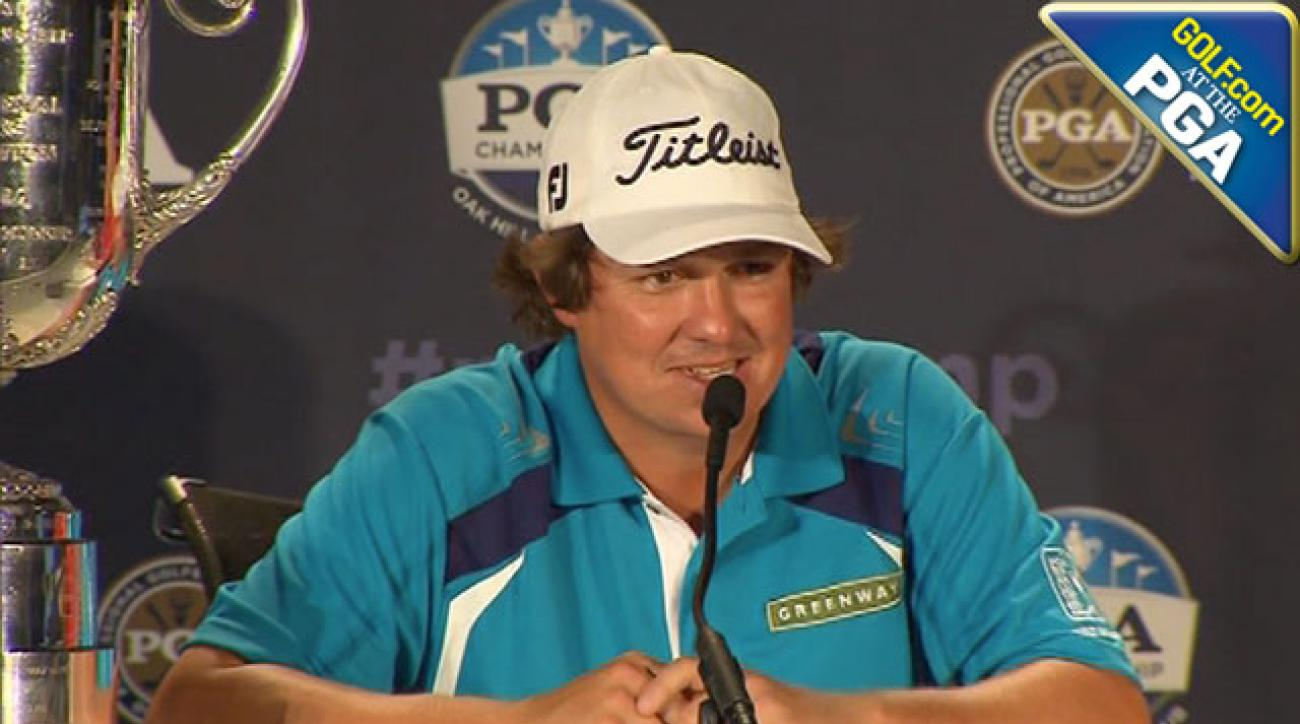 Dufner Describes 'Perfect Ending'