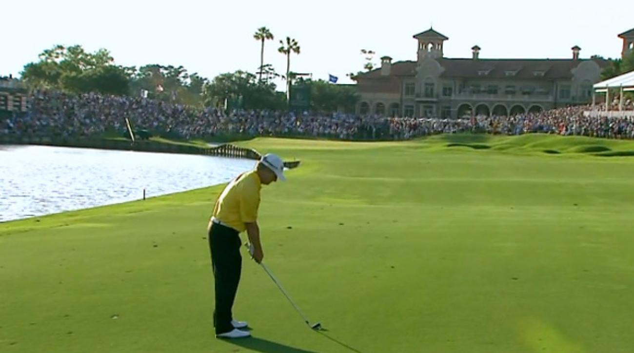PGA Tour Shots of the Year: David Toms Birdies 18th at Sawgrass