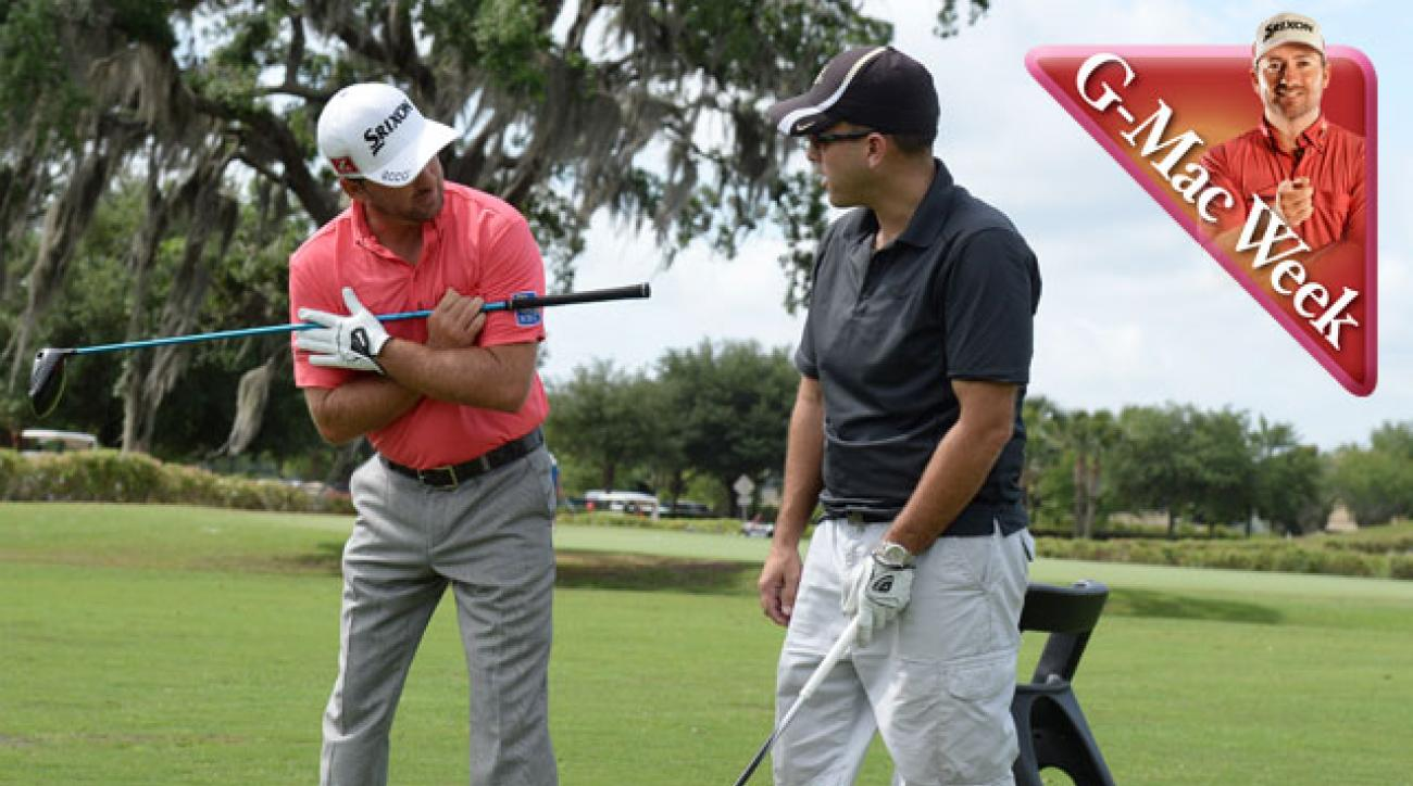 Watch Graeme McDowell Give an Unsuspecting Golfer a Driving Lesson