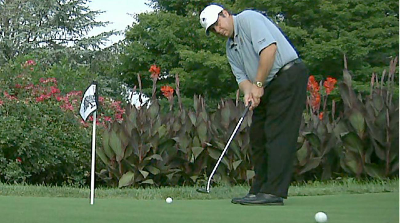 Lou's Lab: The perfect putting-green warm-up