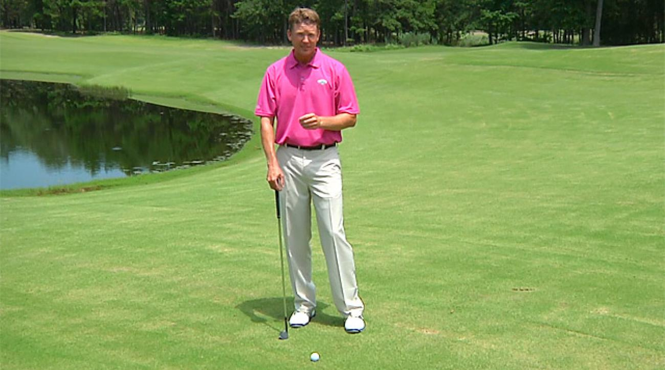 Hump Day Tip: Ball Position For Chip Shots
