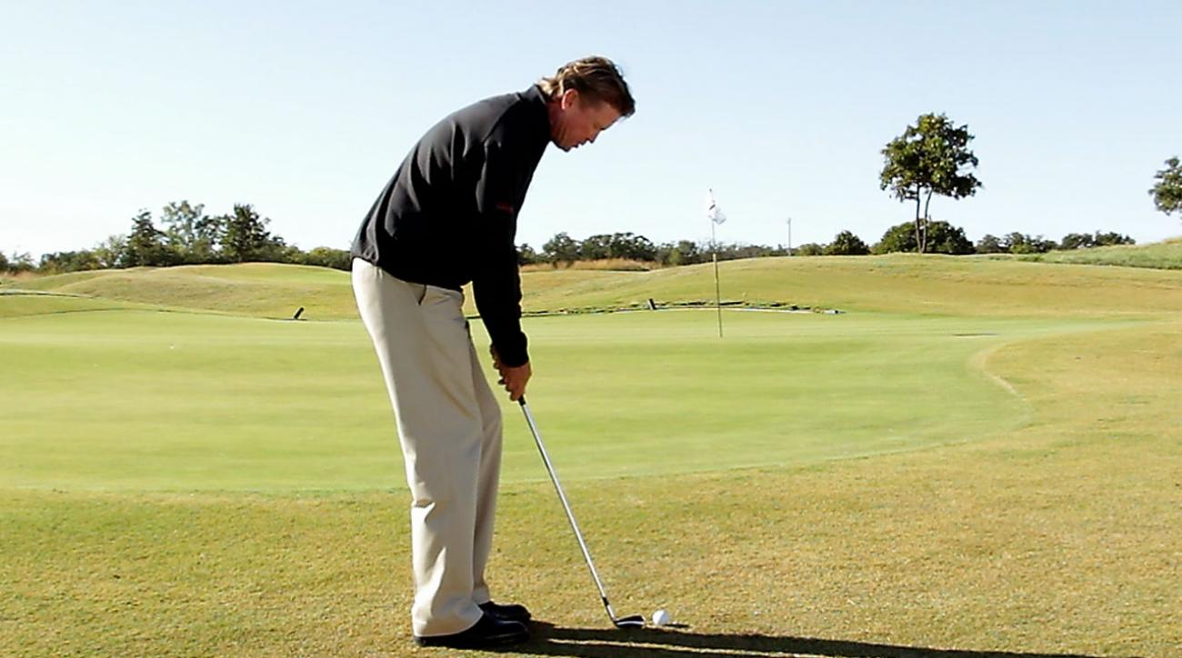 Hump Day Tip: Practice Your Chip Next to the Ball