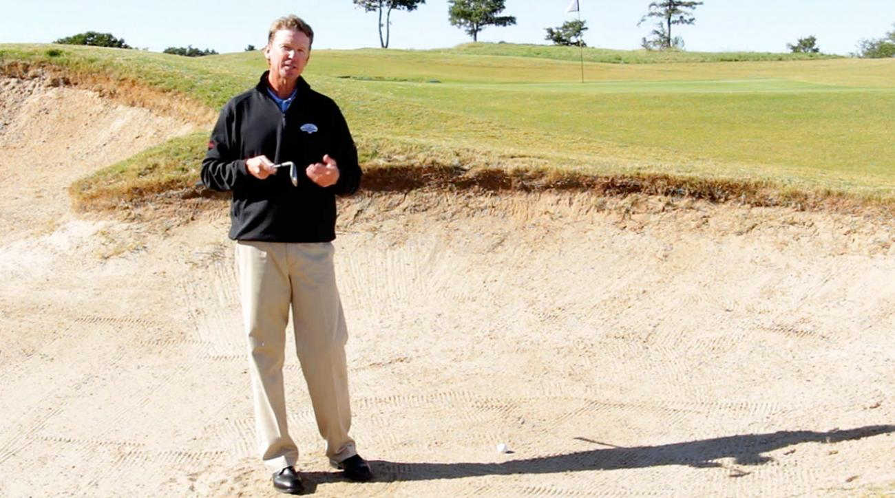 Hump Day Tip: Use Less Loft For Better Bunker Shots