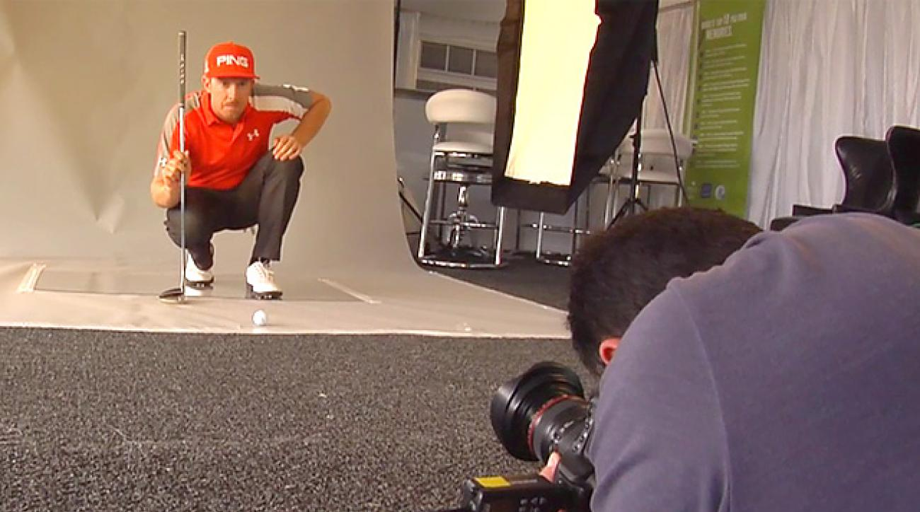 Hunter Mahan's Golf Magazine Cover Shoot