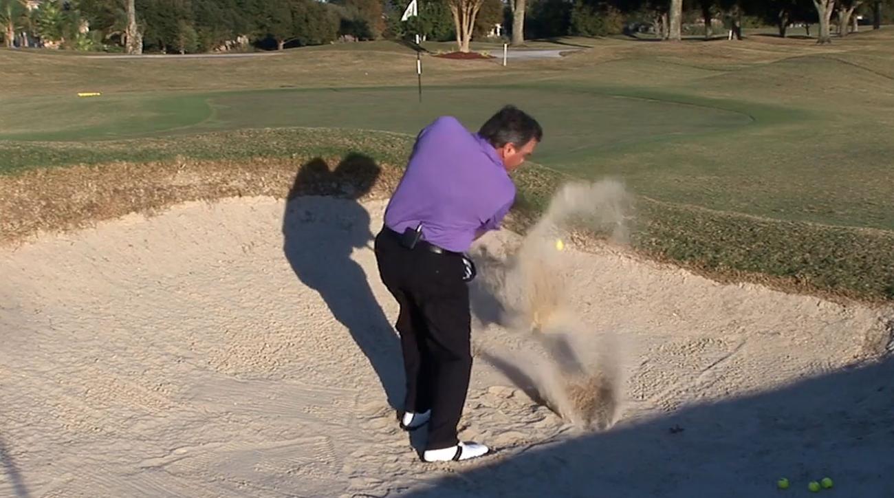 Brian Manzella: Blast It Out Of A Bunker Like Bubba