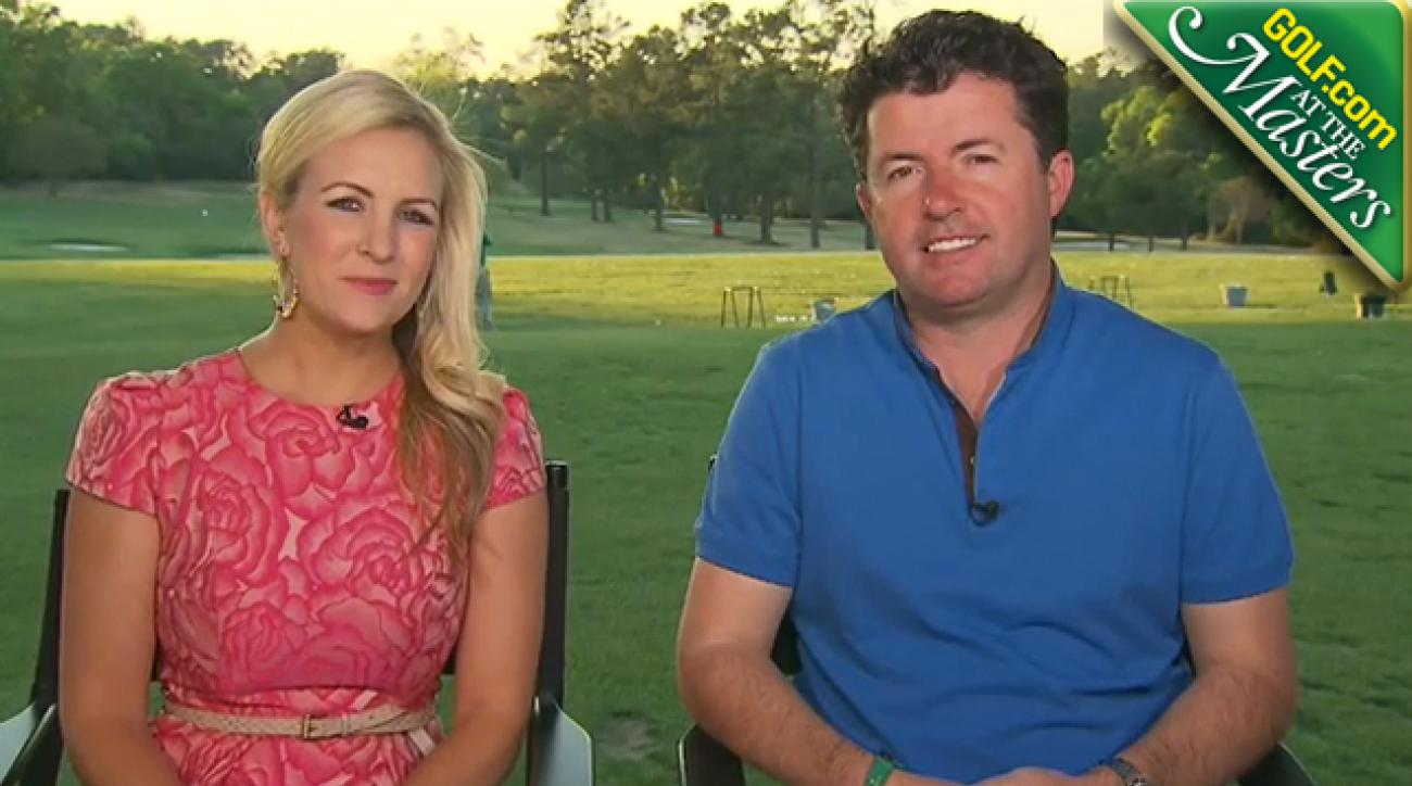 Masters Round 1 Video:  Augusta National, Bubba Watson, Rory McIlroy, Phil Mickelson