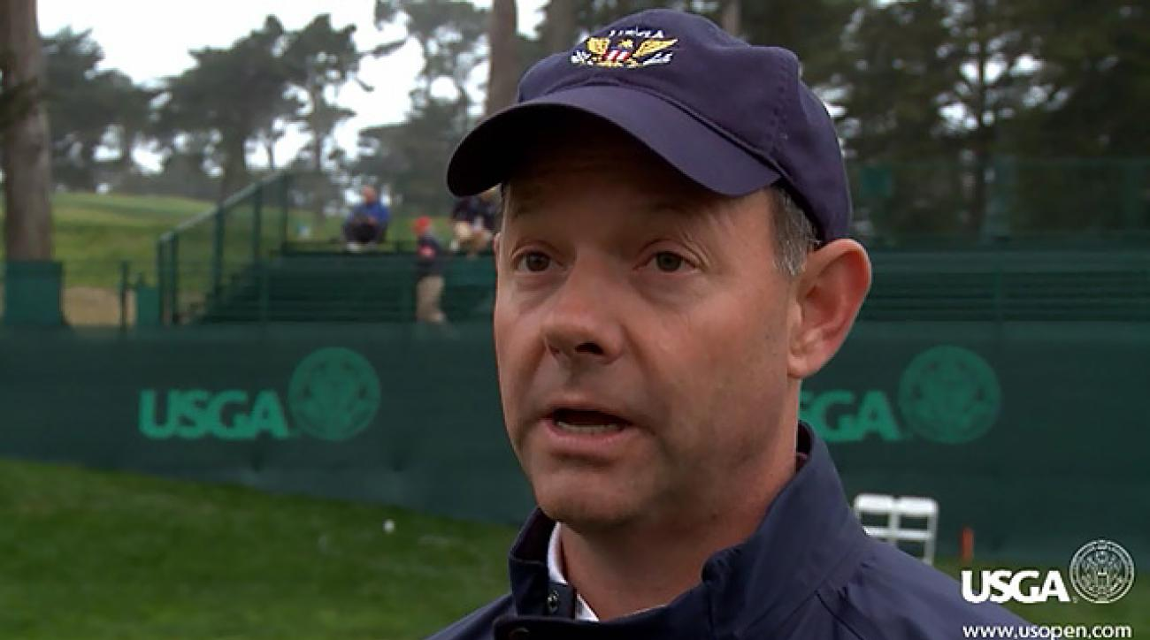 USGA president Mike Davis on Thursday setup at U.S. Open