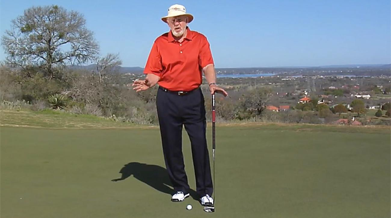 Dave Pelz on How To Use a Belly Putter