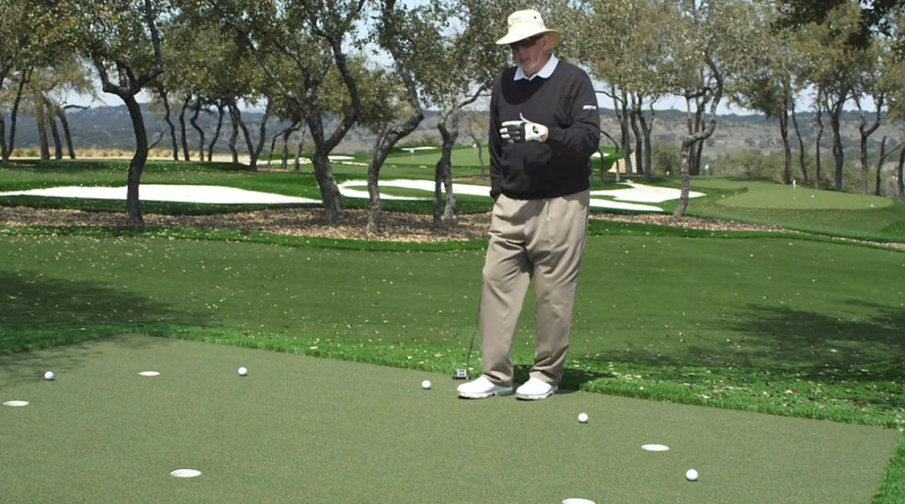 Dave Pelz: Groove 6-Footers With The Clock Drill