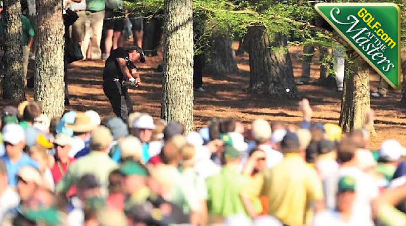 Greatest Masters Shots: How to Hit Phil's 2010 Tree Shot