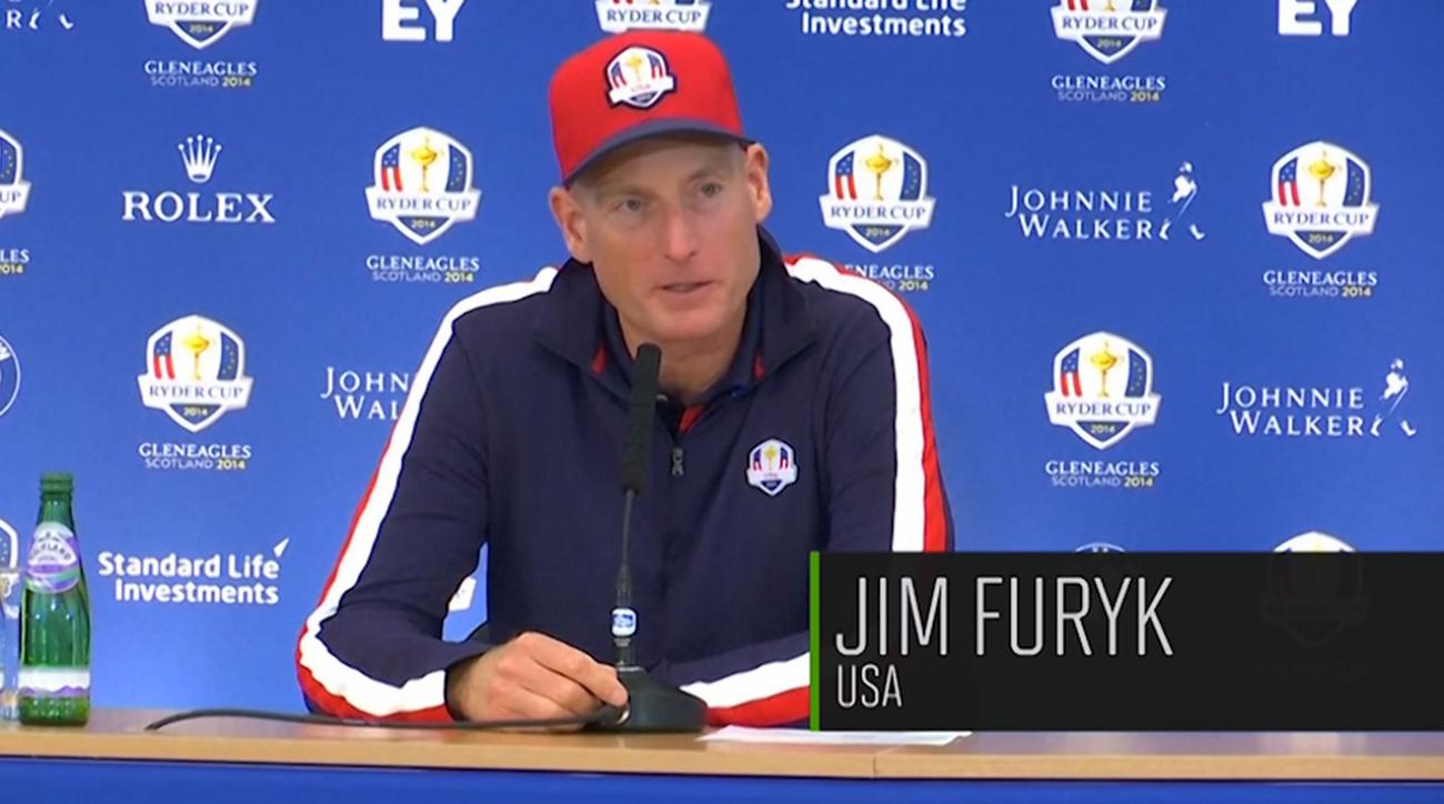 Jim Furyk Says Americans Embrace Underdog Role at Ryder Cup