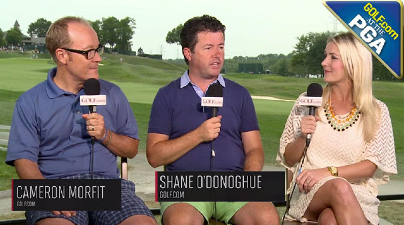 PGA Championship Day 1: Rory McIlroy Settling in as Favorite