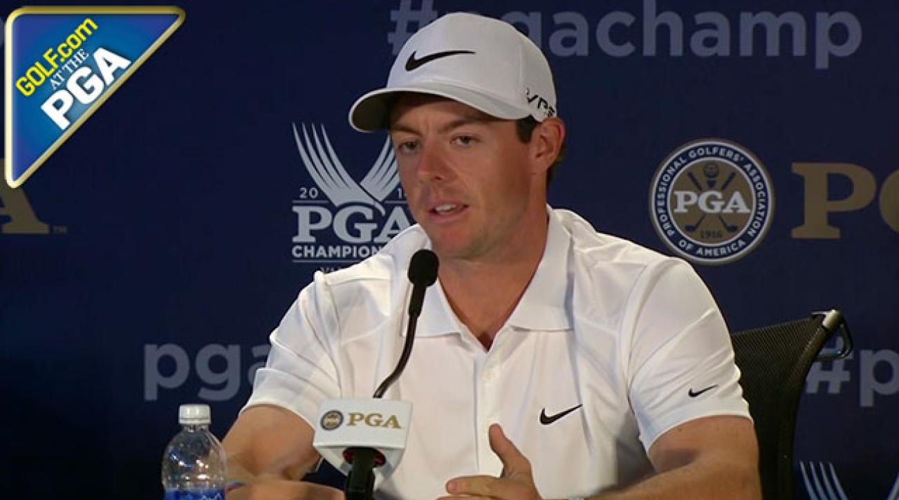 Rory McIlroy: 'Golf Was Looking for Someone to Put Their Hand Up'