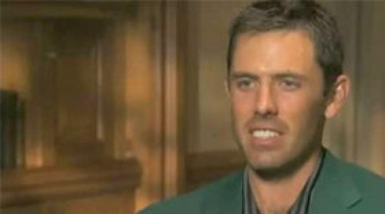 Charl Schwartzel on Masters Victory