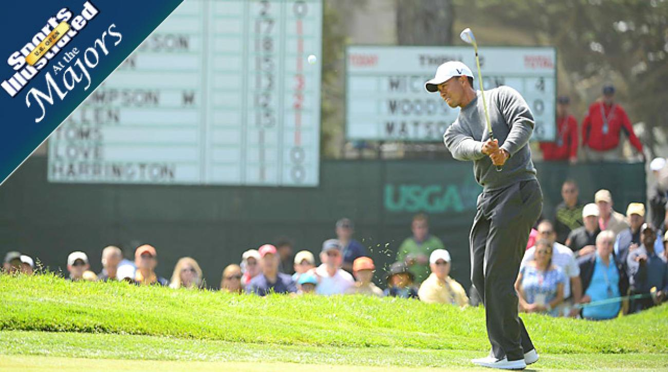 Day 2 Mid-day report: Watching Tiger, others who could make a run