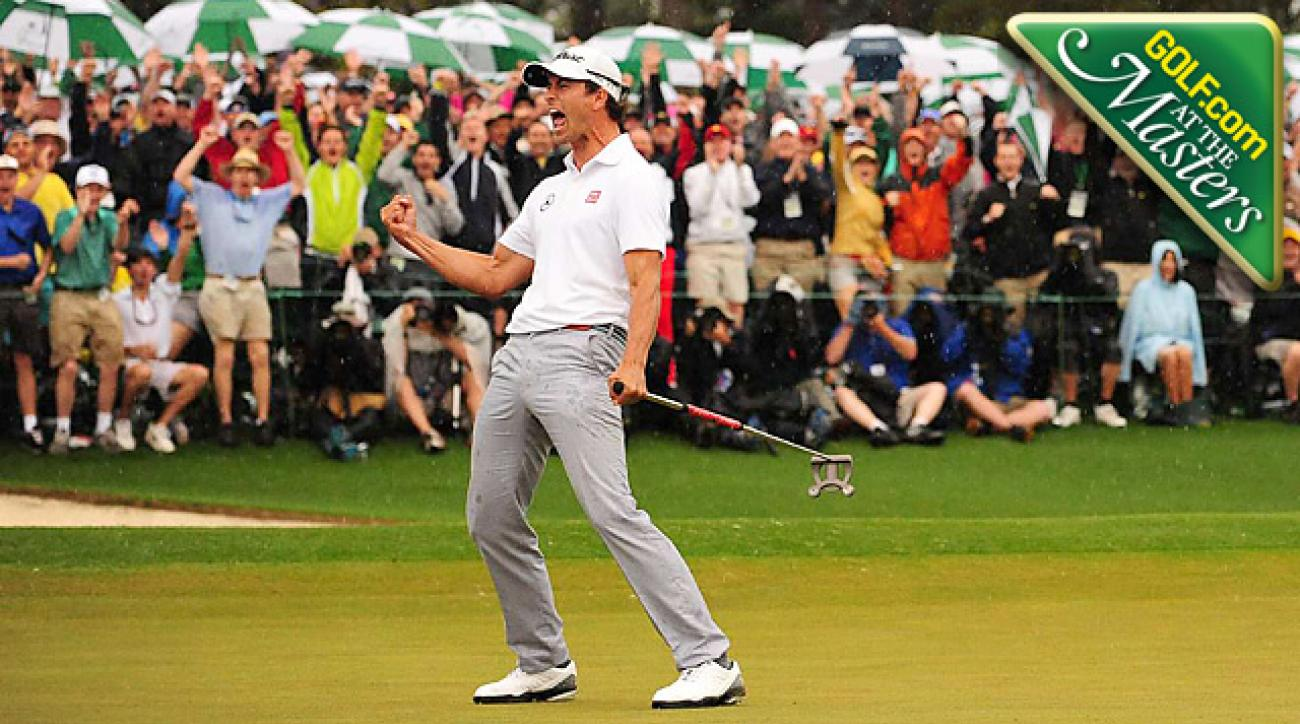 Scott's redemption, Tiger's troubles and highlights of the 2013 Masters