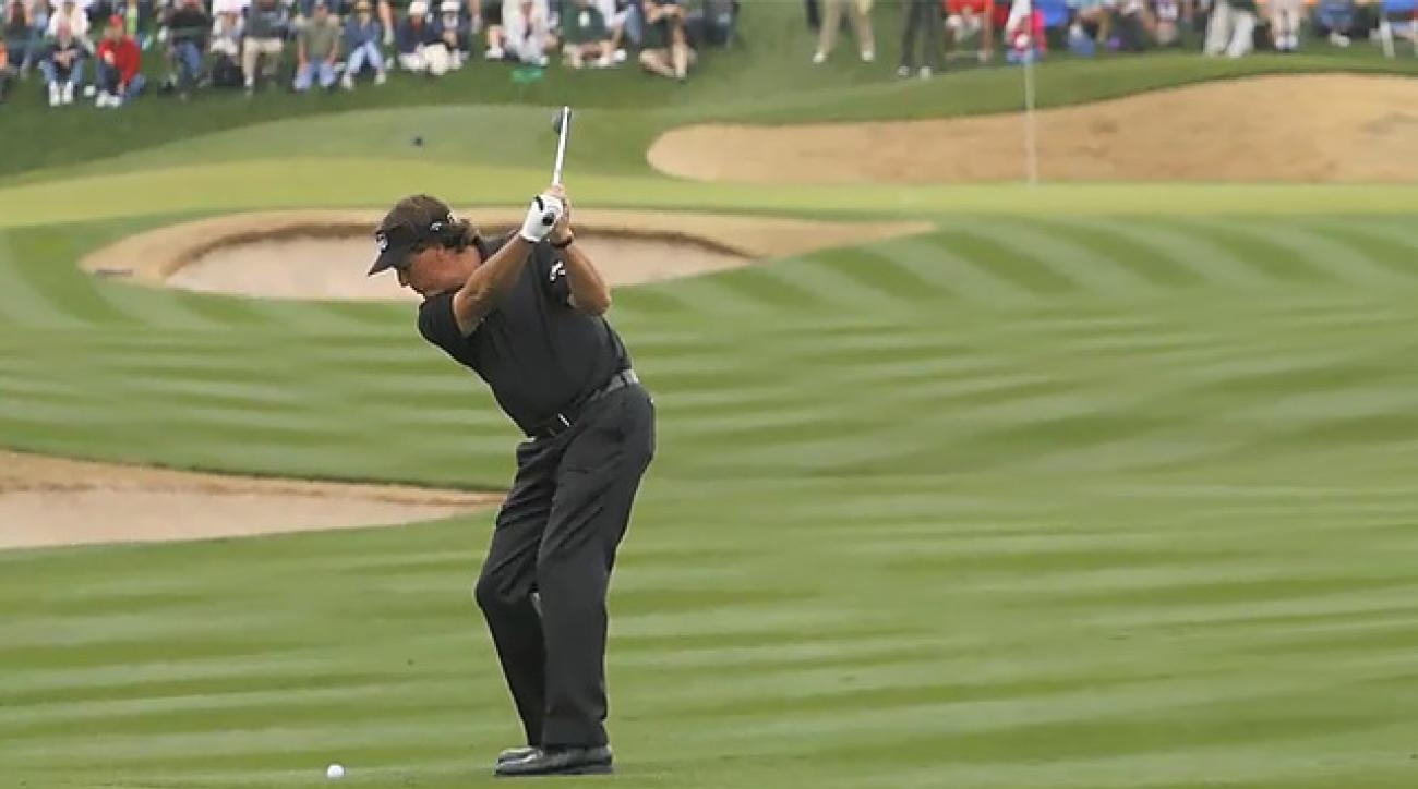 Big Play: Phil Mickelson's Swing Key at Phoenix Open