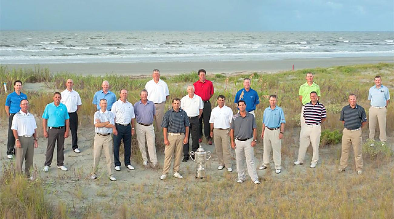 Meet the club professionals at the 2012 PGA