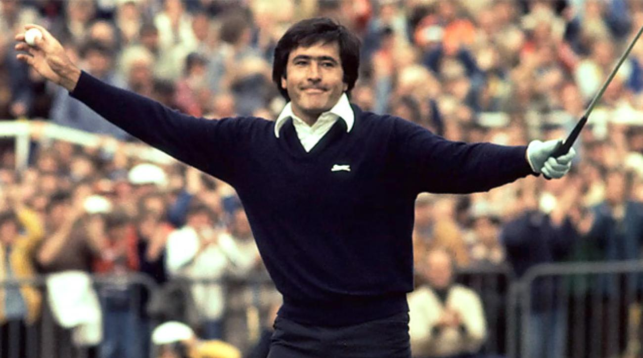 Remembering Seve's win at 1979 British Open at Royal Lytham