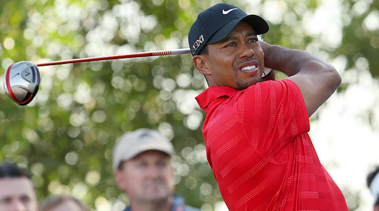 Tiger Woods Interview after Final Round at 2012 Abu Dhabi Championship