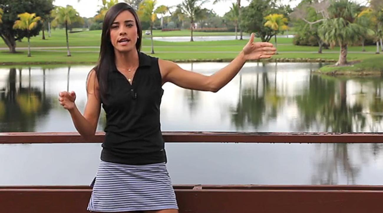 Hot Tip From A Hot Golfer: LPGA's Veronica Felibert on How to Control the Speed on Your Putts