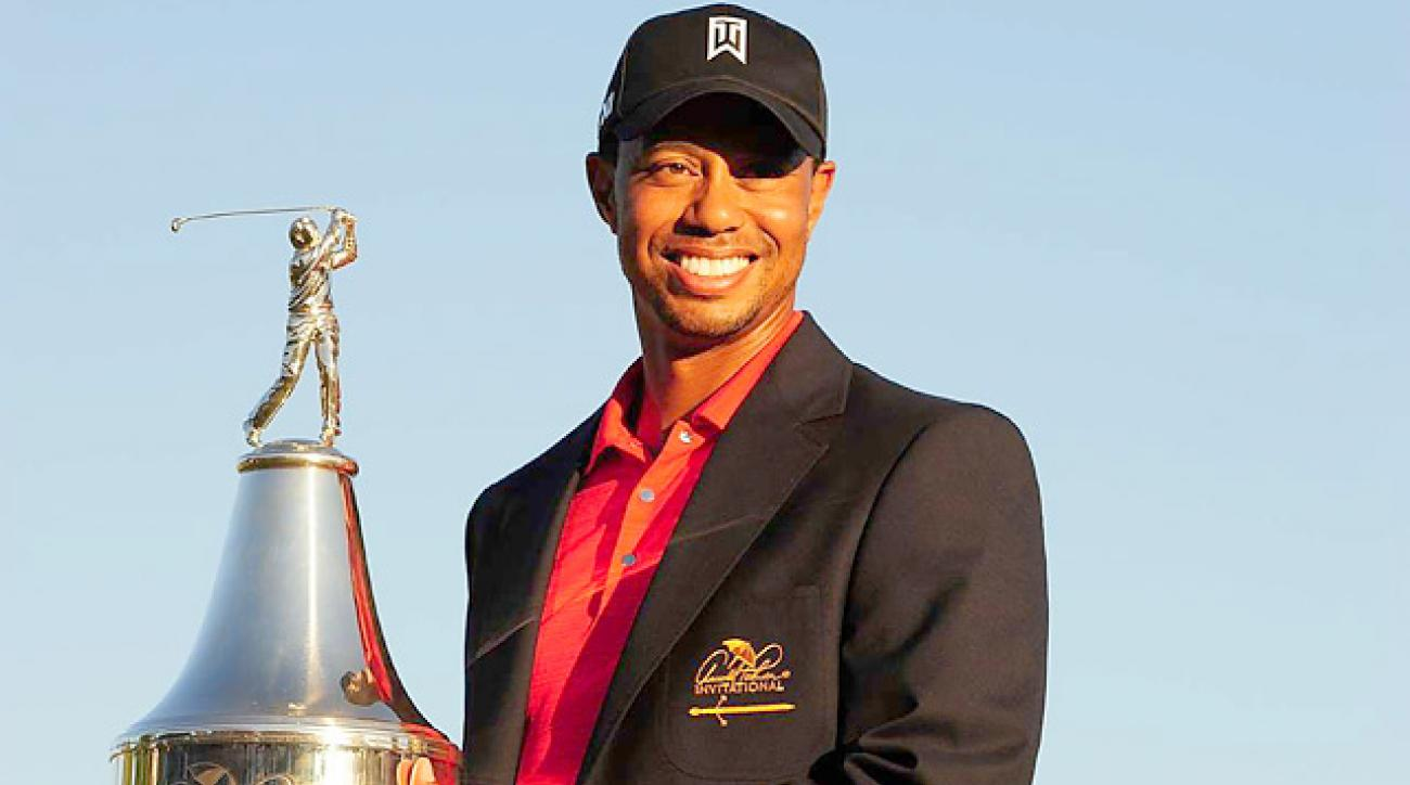Tiger Woods discusses his victory at 2012 Bay Hill Invitational