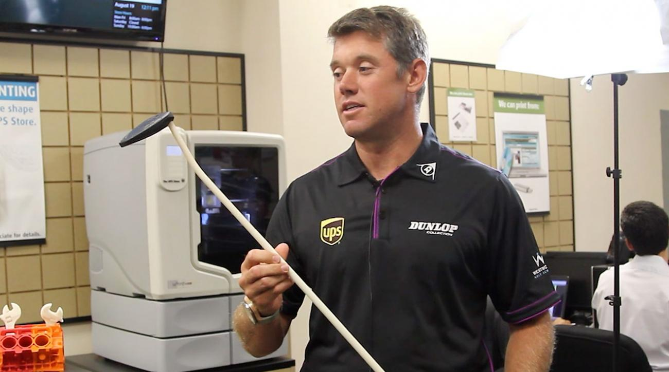 Lee Westwood Demos a Replica Putter Created With a 3-D Printer